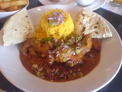 Lamb curry from the bar menu at Oloroso, Edinburgh