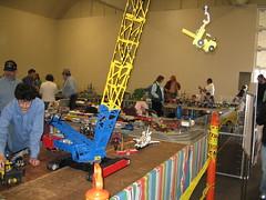 Giant Lego Crane