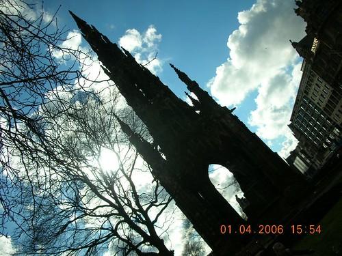 Silouette- Edinburgh