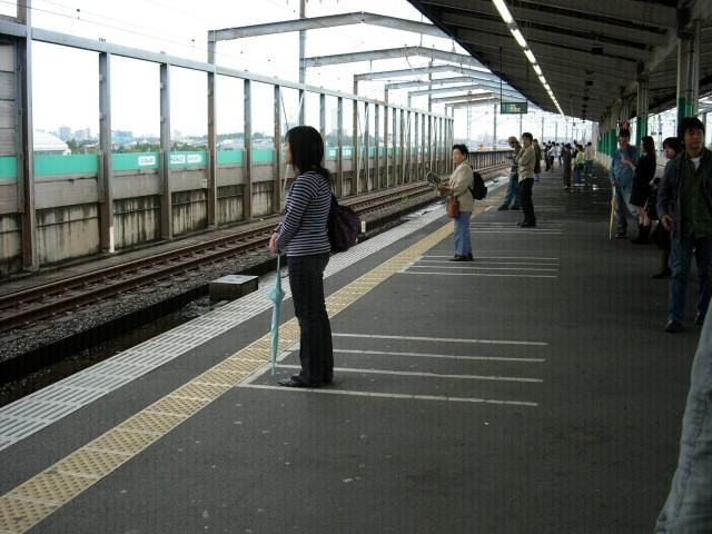 Kita-Urawa: parking dla pasażerów ;>