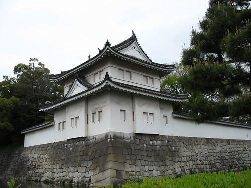 Kyoto - Nijo Castle, kula na kantunu