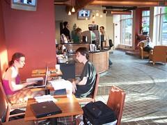 Ebenezer's Coffee Shop, 2nd & F Streets NE, DC