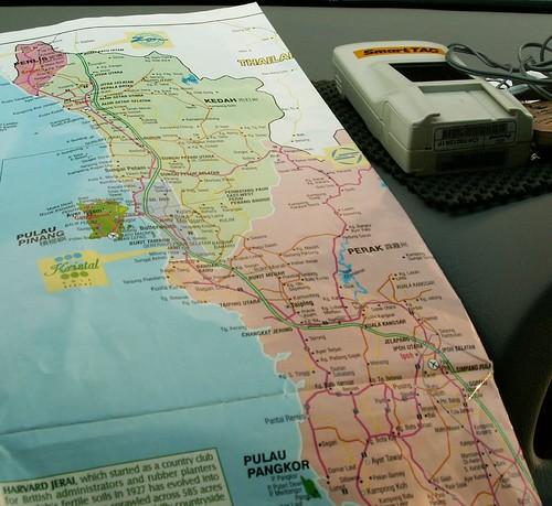 Map - Penang/Pangkor
