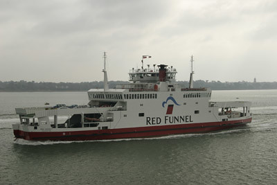 The Isle of Wight car ferry