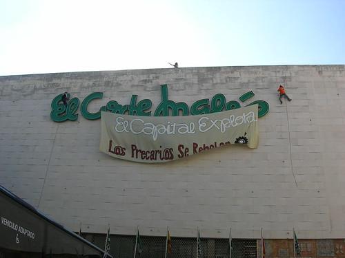 Acción Directa en Plaza del Duque