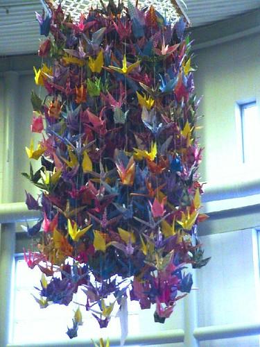a thousand paper cranes
