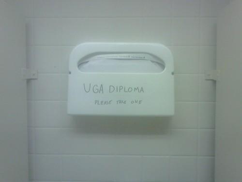 UGA diploma