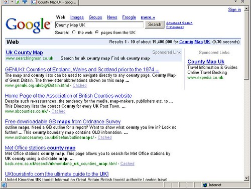 MSN Search Advertising in Google AdWords UK