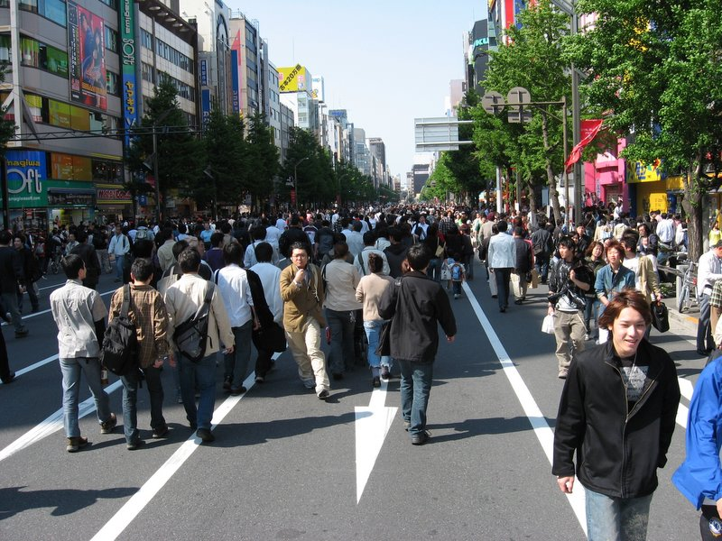 Pedestrian's Paradise