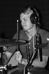 Adrian Young (drummer) in the studio!