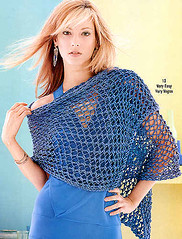 Lace Wrap from Vogue Knitting Spring Summer 2005