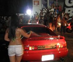 Bikini car wash in Mactan island