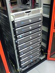 Ein Server-Schrank von //SEIBERT/MEDIA