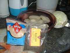 Ingredients for Sookhe Aloo (Dry Potatoes)