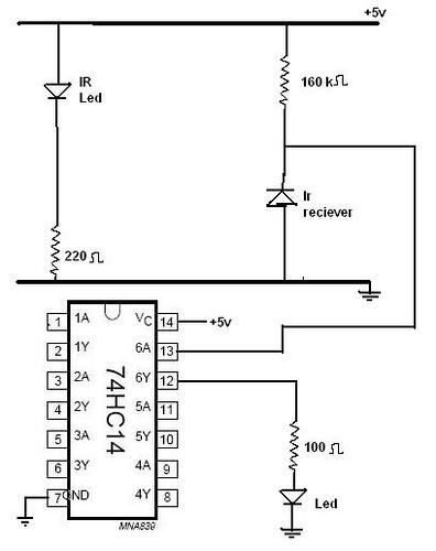 Tsop1738+ir+sensor