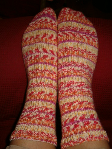 Wendy's Generic Toe-Up Socks