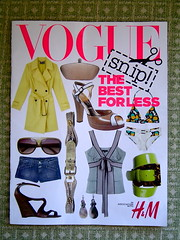 British Vogue/H&M publication
