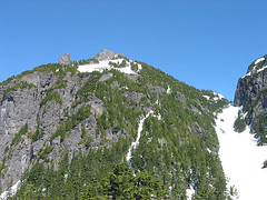 Baring Mtn From Bottom Of Gully