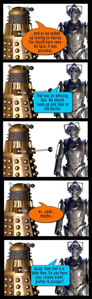 Dalek and Borg 26a
