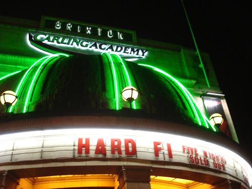 Hard-Fi, Brixton Academy