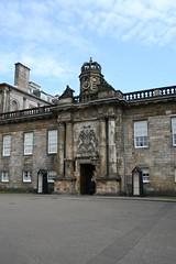 Entrance to the Palace of Holyroodhouse, Edinburgh