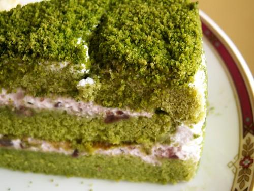 Japanese Layered Cake Recipe: Sun Moulin Japanese Green Tea Cake