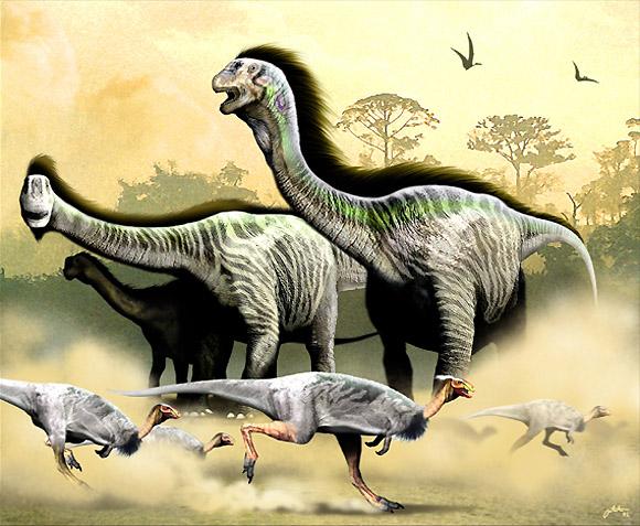 camarasaurs and dryosaurs