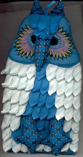 Vintage Owl Potholder