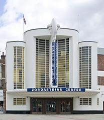 Frontage of the Grosvenor Cinema, Harrow, London photo by Metropol 21