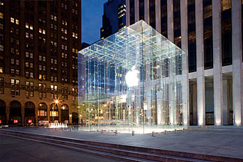 Apple Store on New York's Fifth Avenue