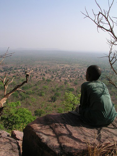 Dindafalou view