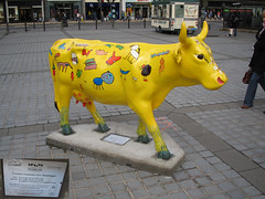 No 25 Creative Creatures from Bonnington at Edinburgh Cow Parade 2006