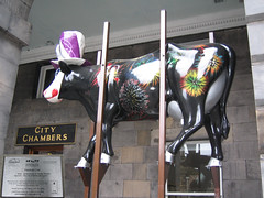 No 4 Festival Cow at Edinburgh Cow Parade 2006