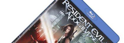 Resident Evil Blu-ray sleeve