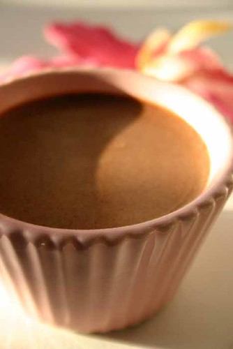 Chocolate Frangipani  Mousse