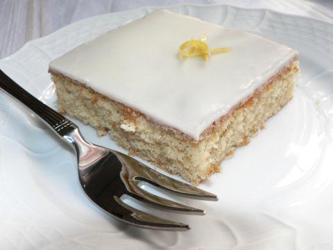 Lemon Ginger Snack Cake