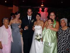 Newly Wed, my sisters and both my grandmas