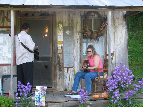 Porch Pickin' at Penn's Store