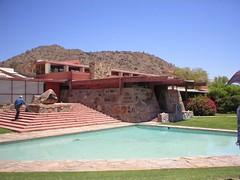 A triangular pool