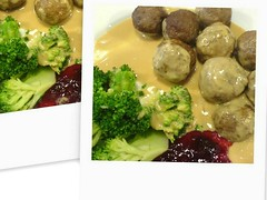 Swedish Meatballs Collage