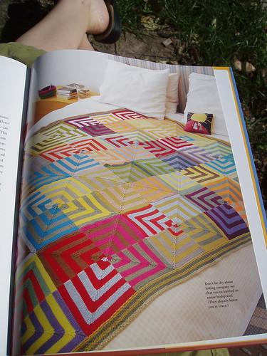 Mason-Dixon Knitting Bedcover