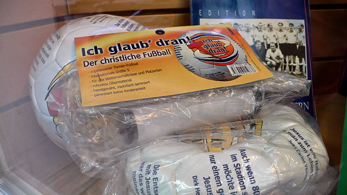 'Der christliche Fußball' in Hamburg Sankt Georg
