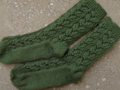 Amazing Lace Socks #1 are done