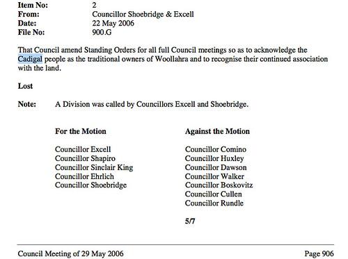 council says no