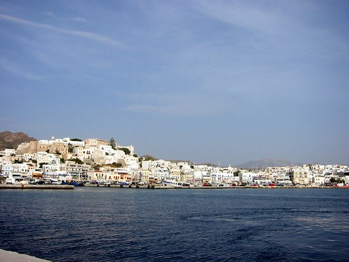 First view of Hora, Naxos