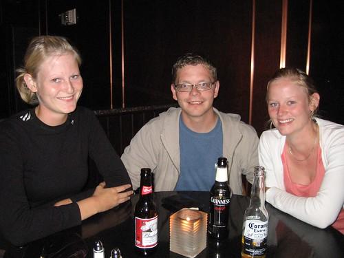Bodil, me and Maja