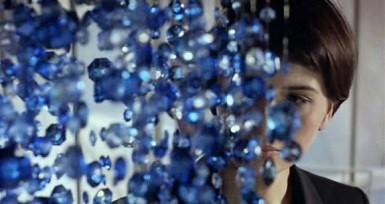 bleu chandelier 1
