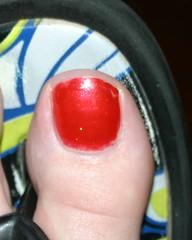big toe
