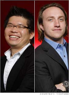 Chad Hurley and Steven Chen