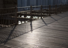 Boardwalk on The Brooklyn Bridge